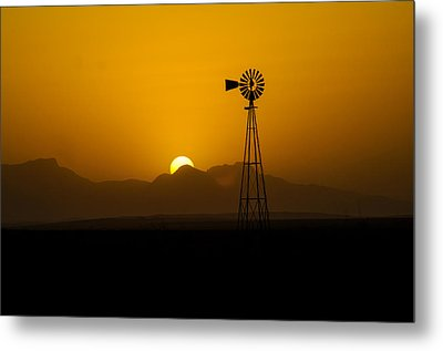 Dusty Sunset Metal Print