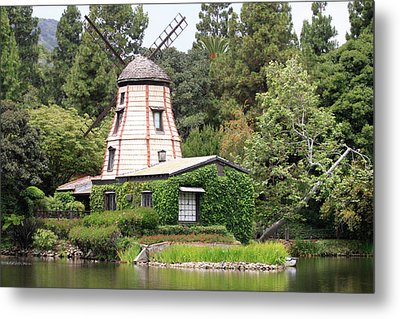 Dutch Windmill Metal Print by Ivete Basso Photography