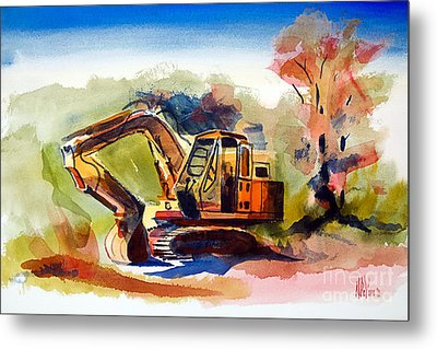 Duty Dozer II Metal Print by Kip DeVore