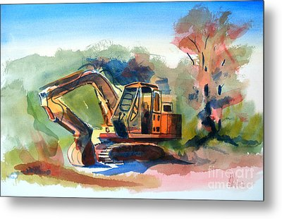 Duty Dozer Metal Print by Kip DeVore