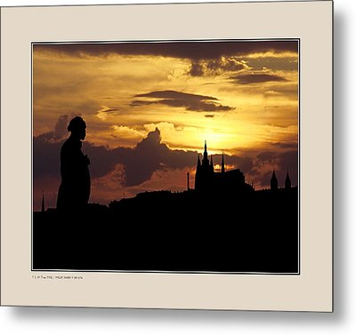 Metal Print featuring the photograph Dvorak And Skyline by Pedro L Gili