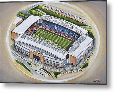 Dw Stadium - Wigan Athletic Metal Print