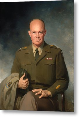 Dwight D Eisenhower Metal Print by Mountain Dreams