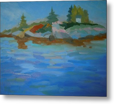 Dyer Bay Island Metal Print