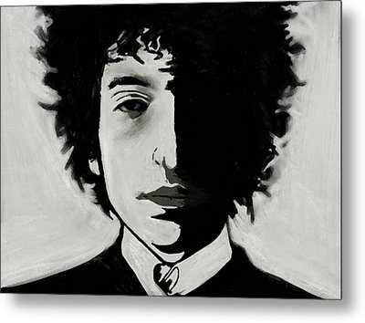 Metal Print featuring the painting Dylan by Jeff DOttavio