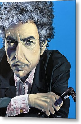 Dylan Metal Print by Kelly Jade King