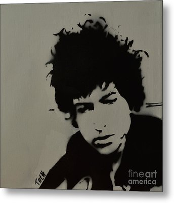 Dylan Spray Art Metal Print