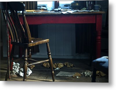 Dylan Thomas Writing Shed Metal Print