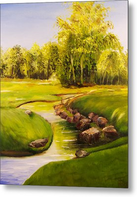Dylan's Creek Metal Print