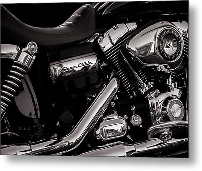 Dyna Super Glide Custom Metal Print