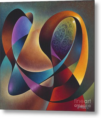 Dynamic Series #13 Metal Print by Ricardo Chavez-Mendez