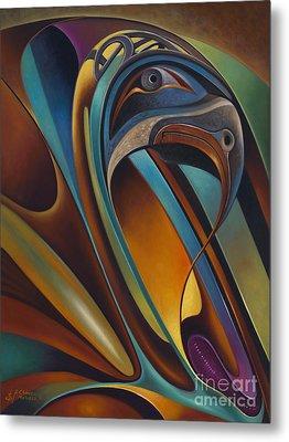 Dynamic Series #17 Metal Print by Ricardo Chavez-Mendez