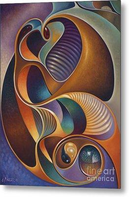 Dynamic Series #23 Metal Print by Ricardo Chavez-Mendez
