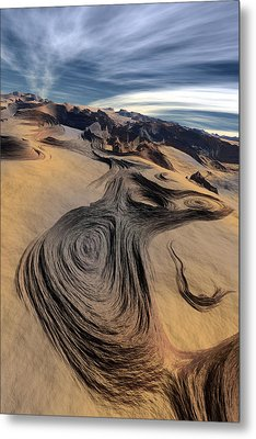 Dynamic World  I  Metal Print by Jean Paul Thierevere
