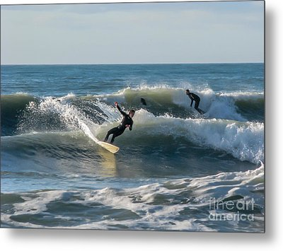 Metal Print featuring the photograph Dynamical Enjoyment by Jola Martysz
