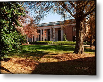 E H Little Library - Davidson College Metal Print by Paulette B Wright