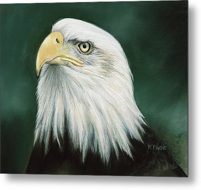 Eagle Eye Metal Print by Karen Cade