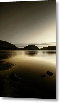 Eagle Lake Metal Print by Greg DeBeck