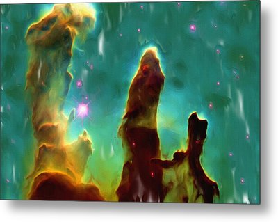 Eagle Nebula 2 Metal Print by Ayse Deniz