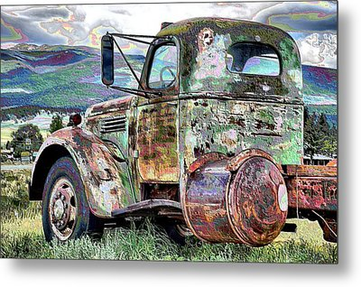 Eagle Nest Snowplow Metal Print