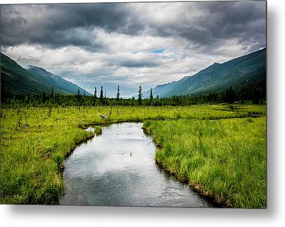 Eagle River Nature Center Metal Print