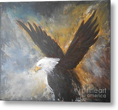 Eagle Spirit 2 Metal Print