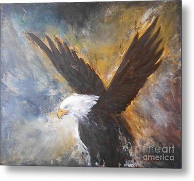 Eagle Spirit Metal Print