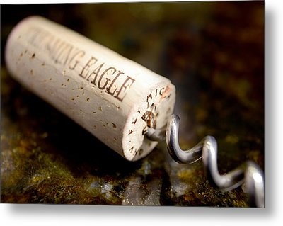 Eagle Uncorked  Metal Print