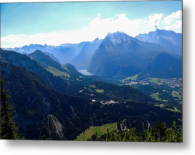 Eagle's Nest Vista Metal Print