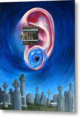 Ear To Hear Metal Print by Beth Smith
