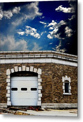 Metal Print featuring the photograph Early 1900s St. Louis Firehouse by Maggy Marsh