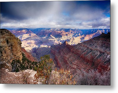 Early Clouds Over Hopi Point Metal Print by Lisa  Spencer
