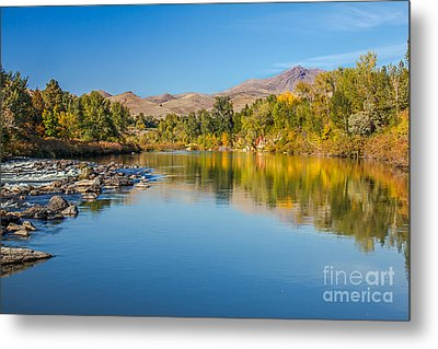 Early Fall On The Payette Metal Print by Robert Bales