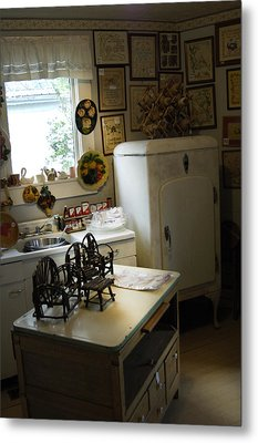 Early Fifty's Kitchen Metal Print