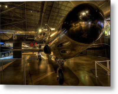 Early Jet Fighter Metal Print by David Dufresne