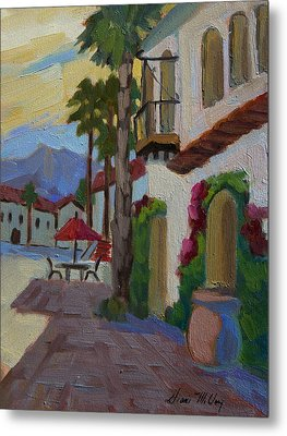 Early Morning At Old Town La Quinta Metal Print
