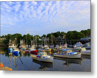 Early Morning At Perkins Cove Metal Print