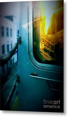 Early Morning Commute Metal Print by James Aiken