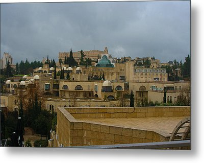Metal Print featuring the photograph Early Morning In Jerusalem by Doc Braham