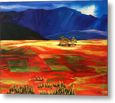 Early Morning Light, Peru Impression Metal Print