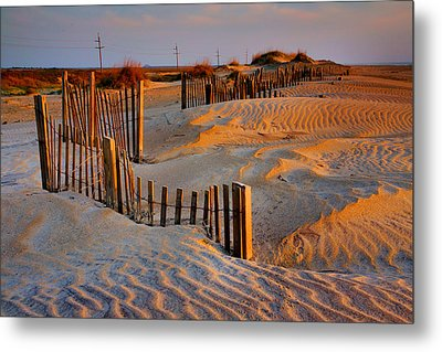 Early Morning On The Dunes I Metal Print by Steven Ainsworth