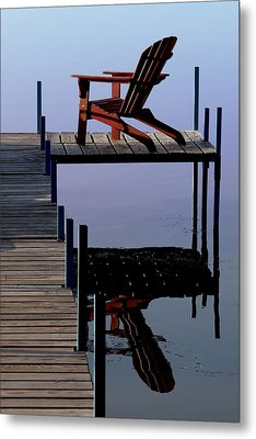 Early Morning Peace Metal Print