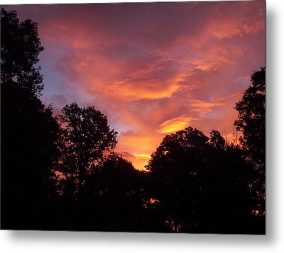 Early Morning Rise Metal Print