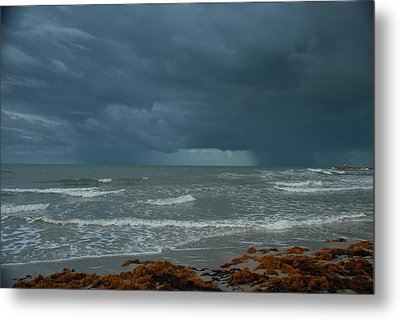 Early Morning Storm Metal Print by Susan D Moody