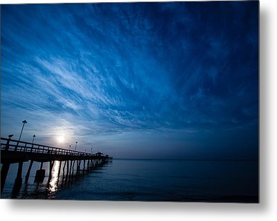 Early Morning Sunrise Metal Print by Mike Burgquist