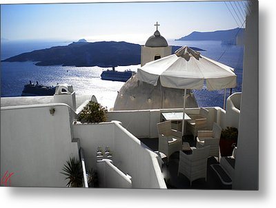 Early Morning View  Metal Print by Colette V Hera  Guggenheim