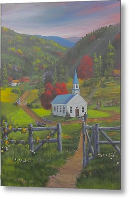 Early On The Lord's Day Metal Print by Glen Gray