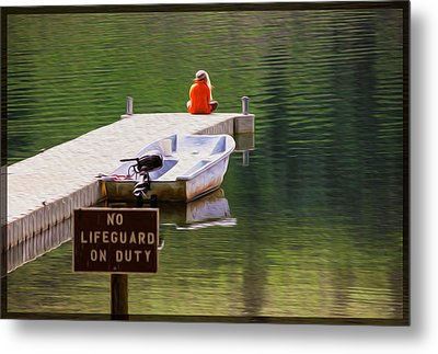 Early One Morning On Patterson Lake Metal Print by Omaste Witkowski