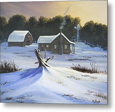Early Snow Metal Print