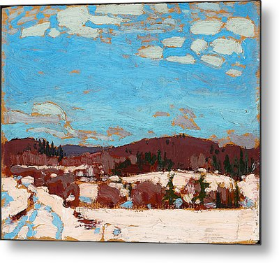 Early Spring Metal Print by Tom Thomson